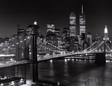 Puente de Brooklyn, fotografía decorativa.