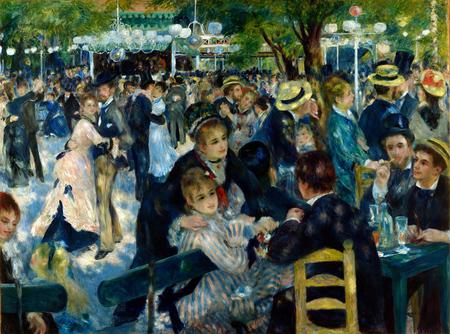 Baile en el Moulin de la Galette - Renoir