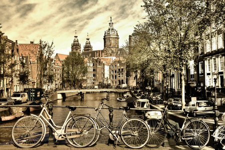 Bicicletas en Holanda - Urbanos