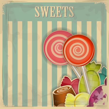 Arte para pastelerías Sweets