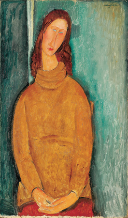 Retrato - Modigliani