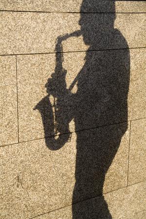 Sombra del Saxofonista