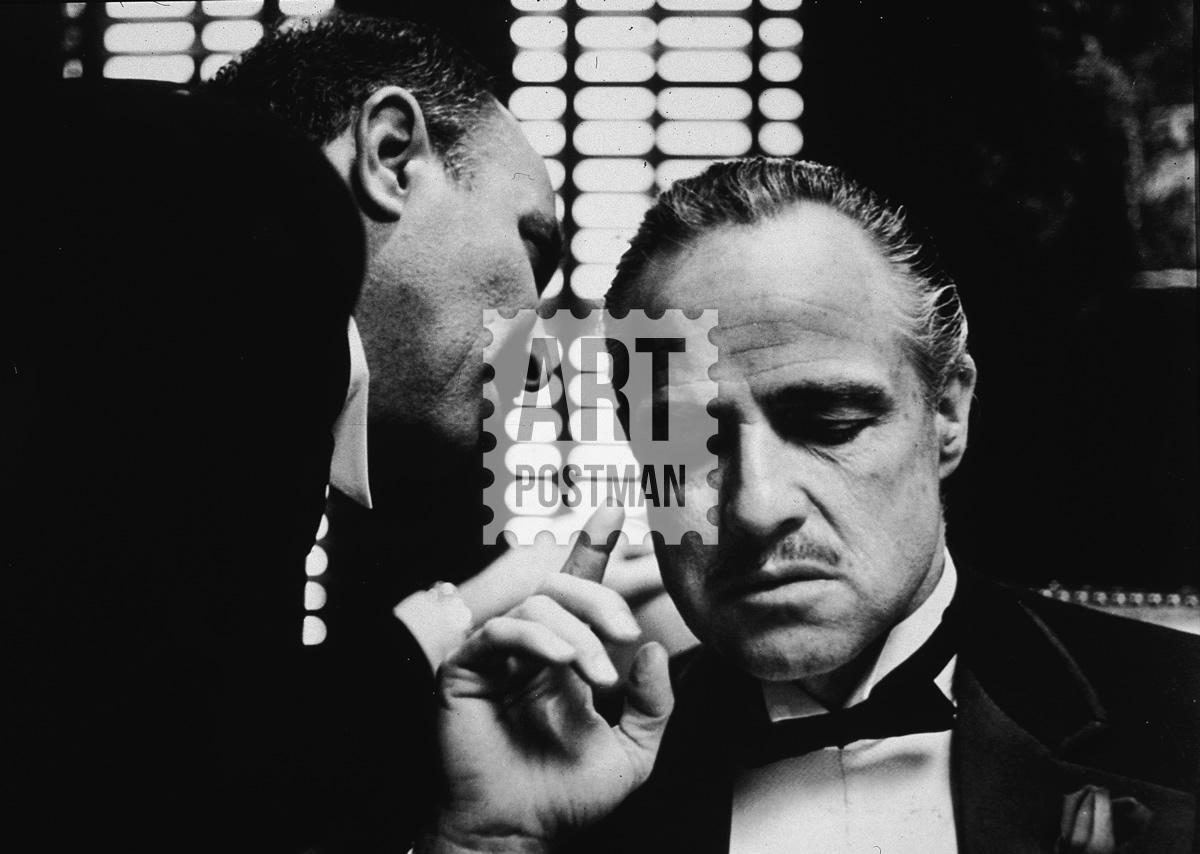 Cuadro de la película El Padrino, Vito Corleone.