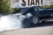 Corvette on Fire