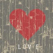 Corazón de Madera Love