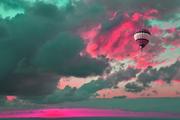 Globo en las Nubes