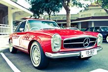 Mercedes Rojo 60's