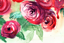 Arte de Rosas al Agua