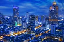 Bangkok in Blue