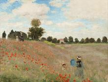 Campos de Amapolas - Claude Monet