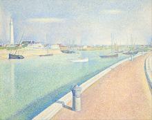 El Canal de Gravelinas - Seurat