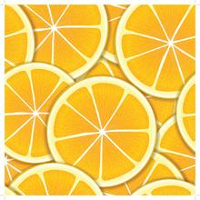 Cuadro en mosaico Orange