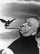 Foto famosa de Hitchcock
