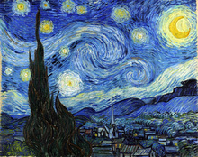La Noche Estrellada -  Vincent Van Gogh.