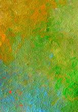 Obra al Óleo Copper Pátina.