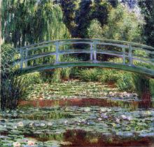 El Puente Peatonal Japonés - Monet