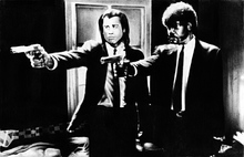 Travolta y L. Jackson en Pulp Fiction