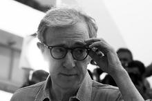 Woody Allen en blanco y negro